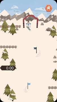 滑雪下山截图