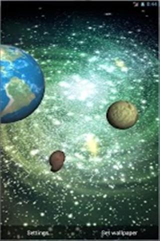 3D银河动态壁纸下载