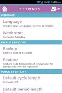 月经周期截图