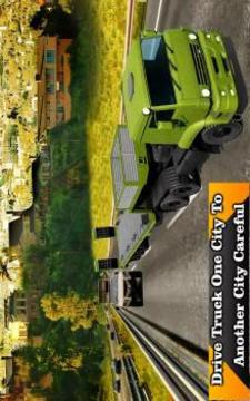 陆 军 货 运 卡车 模 拟 器:运 输 货 运 部 队截图