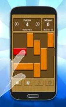 经典滑块解谜游戏 - Unblock Me FREE截图
