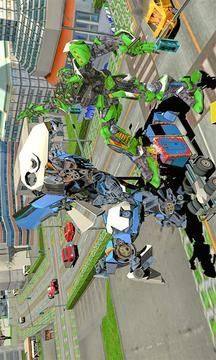 盛大超级汽车机器人闪光速度战斗截图
