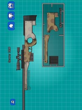 组装玩具狙击枪截图