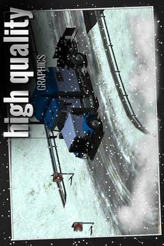 卡车驾驶3D雪截图