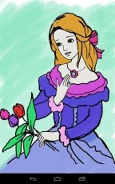 Coloring Princess截图