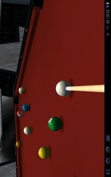 虚拟台球截图