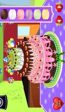 装饰蛋糕游戏截图