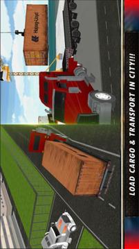 模拟驾驶卡车运输截图