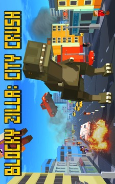 Blocky Zilla: City Crush截图