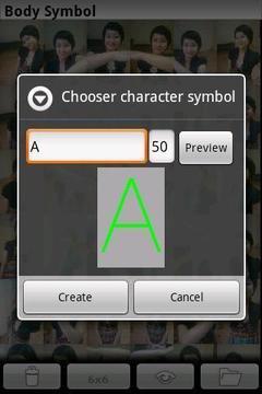 拼图相机 Body Symbol截图