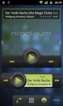 NRG音乐播放器截图