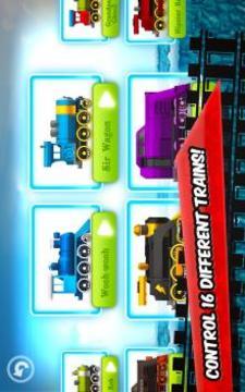 Fun Kids Train Racing Games截图