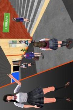 高中虚拟女孩模拟器截图