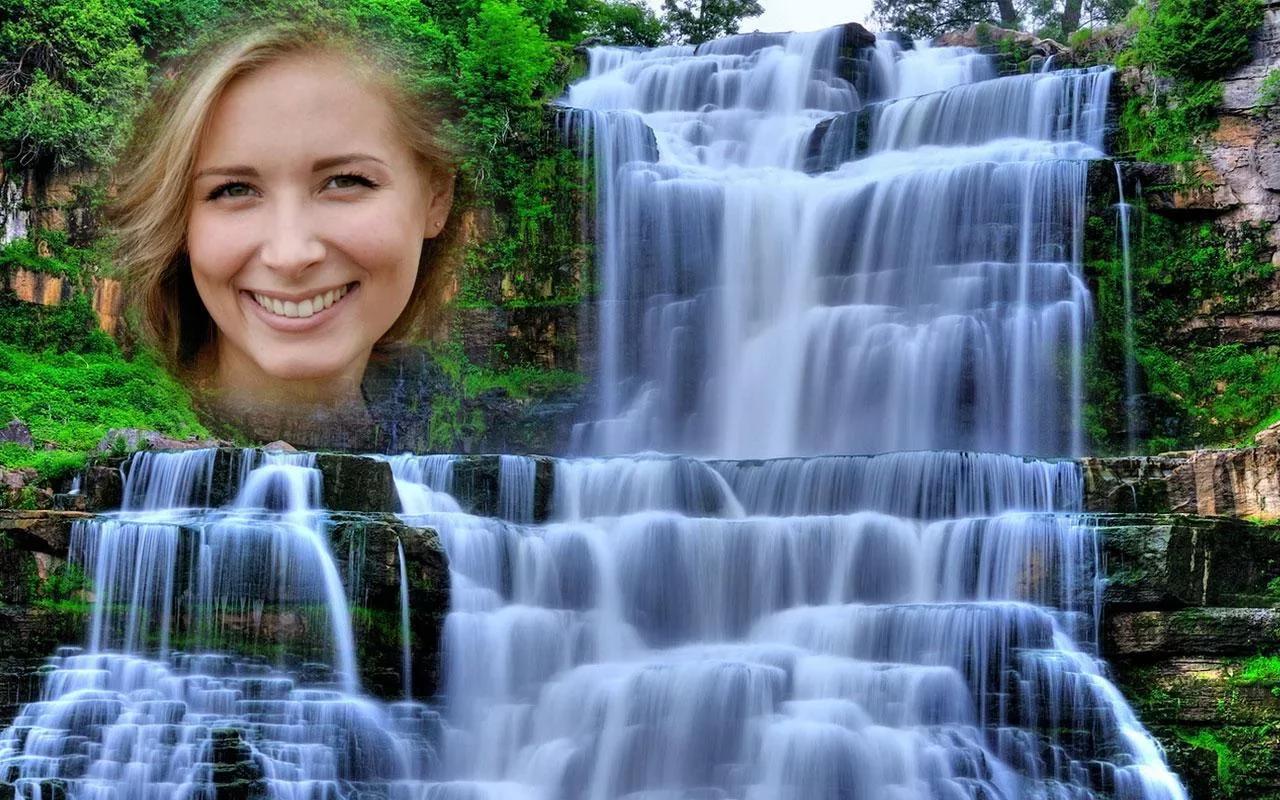 фотоэффекты водопады для фото отыскал имена