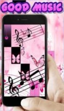 Piano Tiles Magic Pink Buterfly截图
