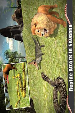 蟒蛇模拟3D截图