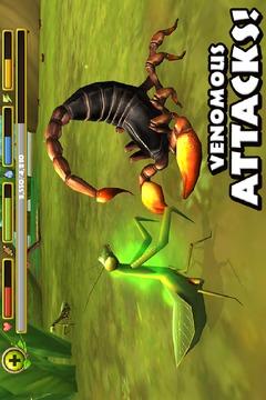 蝎子模拟截图