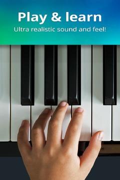 真实钢琴键盘截图