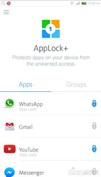 应用锁AppLock+截图