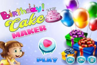 Astonishing Birthday Cake Maker Bakery Chef Kids Cooking Games Birthday Funny Birthday Cards Online Eattedamsfinfo