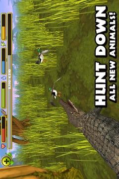 鳄鱼模拟器 Wildlife Simulator: Crocodile截图