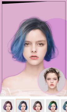 发型设计截图
