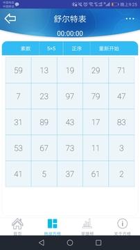 舒尔特表2.51截图