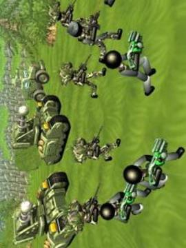 Stickman Tank Battle Simulator截图