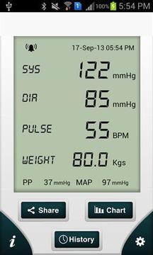 智能血压计 Smahtrt Blood Pressure截图