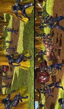 Ninja Assassin War 3D: Fighting Game截图