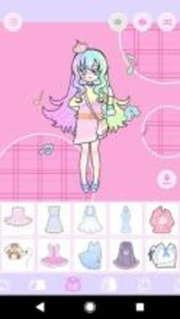 Pastel Avatar Maker 2: Make Your Own Pastel Avatar截图