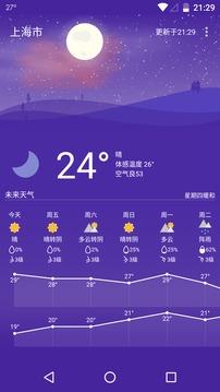 Holi天气截图