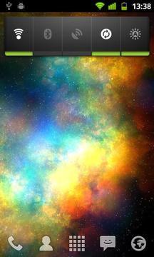 漩涡星空动态壁纸截图