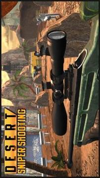 Royale Sniper Shooting: Desert FPS Combat截图