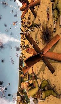 D-Day World War 2 Battle: WW2 Shooting Game 3D截图