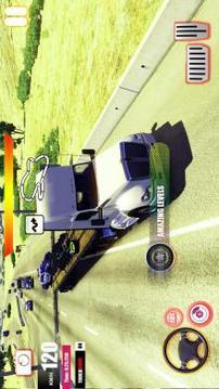 Euro Mobile Truck Simulator 2019Truck Transporter截图