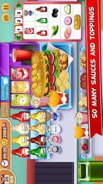 My sandwich Shop Cooking & Restaurant Chef Game截图