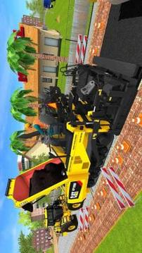 Road Construction Sim Operating Heavy Machinery截图