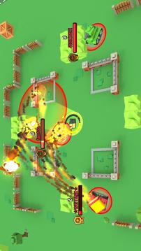 超级坦克坠毁截图