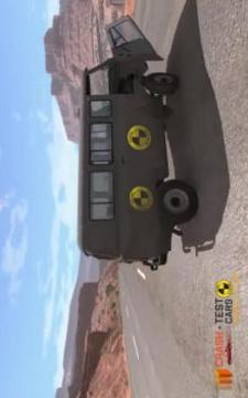 Car Crash Test UAZ BUHANKA截图