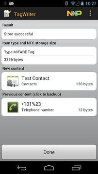NFC TagWriter by NXP下载2019安卓最新版_手机app官方版免费安装