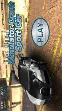 Simulator Crush Sport Car截图