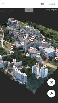 Altizure 三维实景建模截图