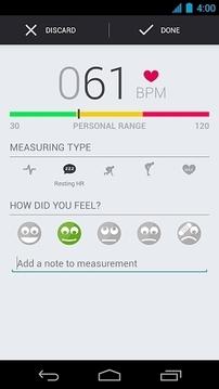 心率检测 Runtastic Heart Rate截图