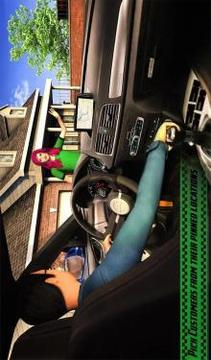 Yellow Cab American Taxi Driver 3D New Taxi Games截图