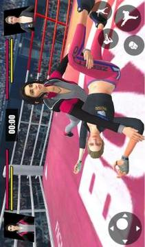 Women Wrestling Ring Battle Ultimate action pack截图