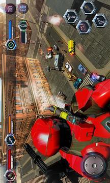 飞行机器人城市救援截图