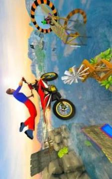 Bike Stunt Games 2018 Impossible Tracks截图