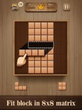Fill Wooden Block 8x8 Wood Block Puzzle Classic下载2019安卓最新版