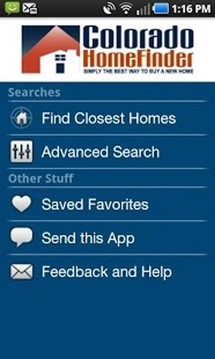 Colorado Home Finder Mobile App截图